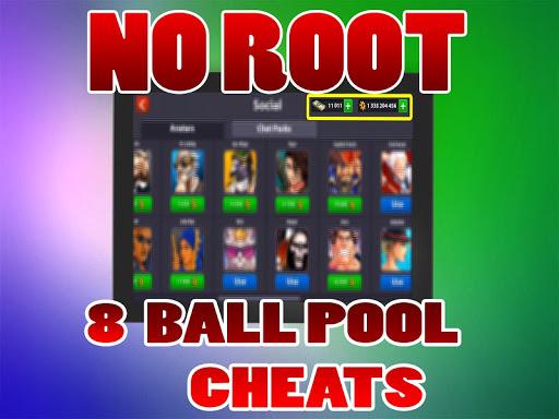 No Root Coins For 8 Ball Pool prank 1.0 screenshots 6