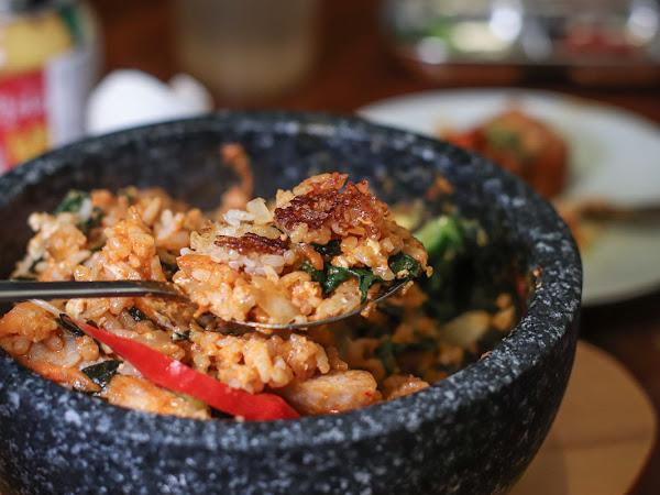 熱騰騰鍋巴飯-四米大石鍋拌飯專賣,超推海鮮煎餅/ 中山韓式料理