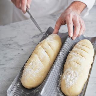 Almost No-Knead Baguette Recipe