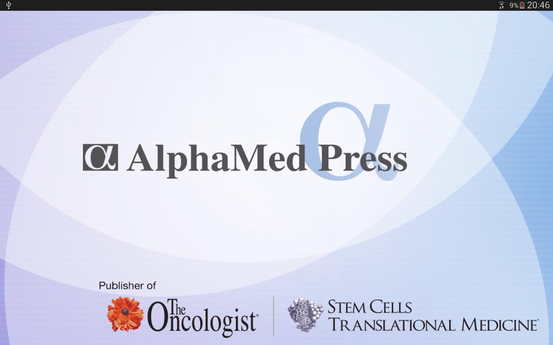 AlphaMed Press Journals - screenshot