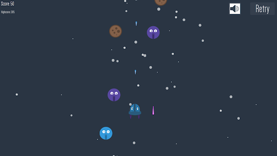 Space Monster - 2D shooter- screenshot thumbnail