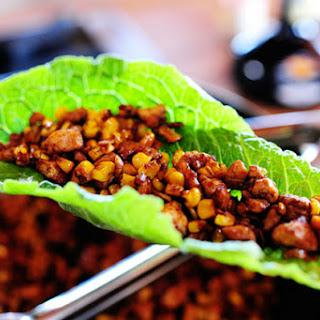 Vegetarian Lettuce Wraps.