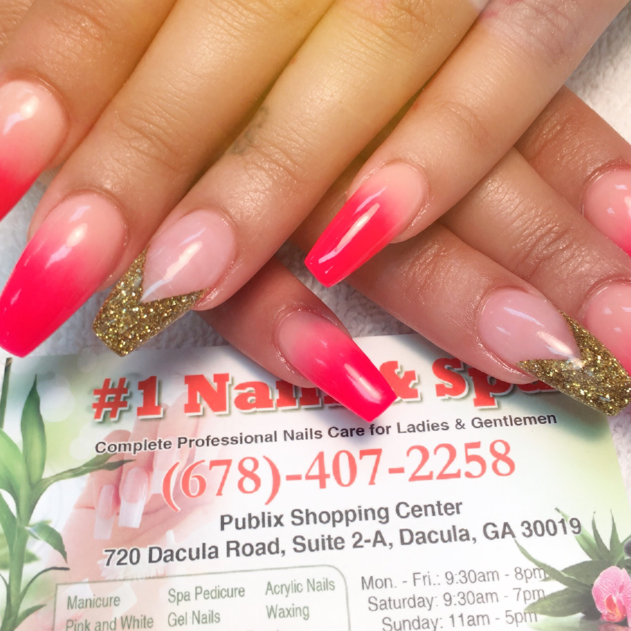 Number One Nails & Spa - Nail Salon in Dacula