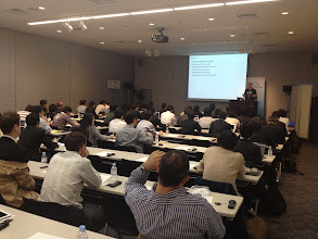 Photo: Chris Richardson in Tokyo, Cloud Foundry Bootcamp