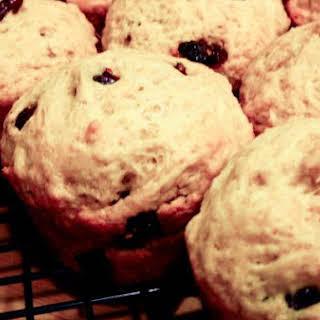 Macaroon's Orange-Cranberry Muffins.
