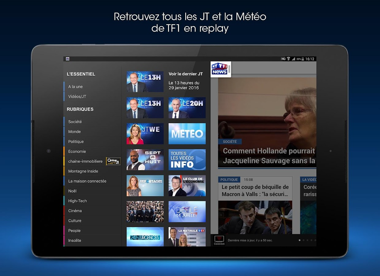 MYTF1News- screenshot