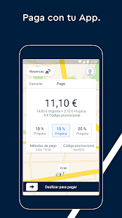 FREE NOW (mytaxi) - pide y reserva taxis Screenshot