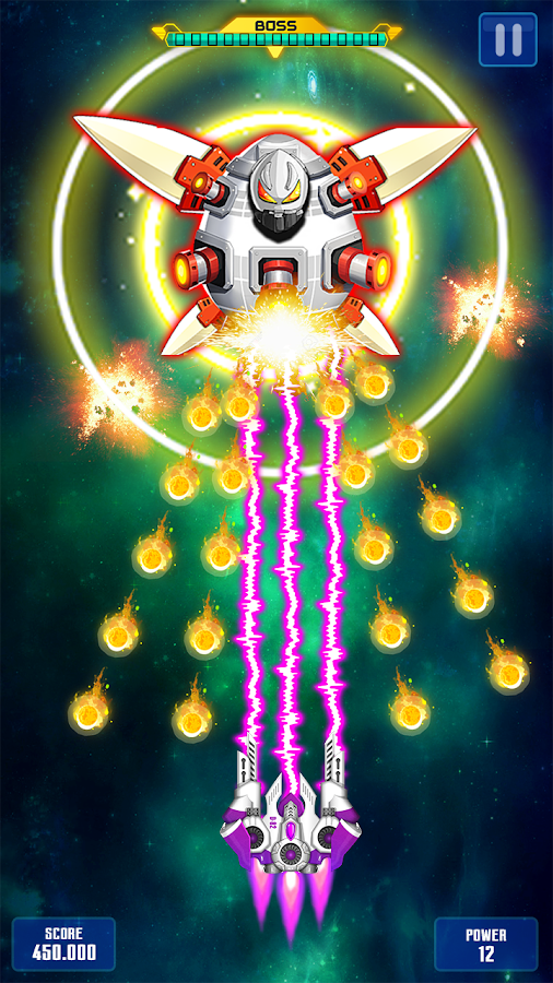 Space Shooter : Galaxy Attack- screenshot