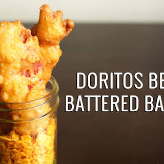 Nacho Doritos Beer Battered Bacon.