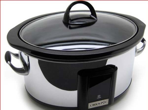 Easy Pork Chop Dinner In A Crock Pot Recipe