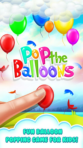 Pop the Balloons-Baby Balloon Popping Games 1.0 screenshots 1