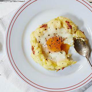 Baked Eggs & Potatoes.