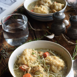 Turkey & Dumplings (With The Best Dumplings Ever)