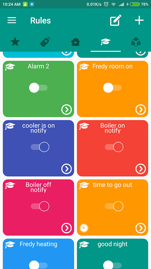 MindoLife family smart home- screenshot