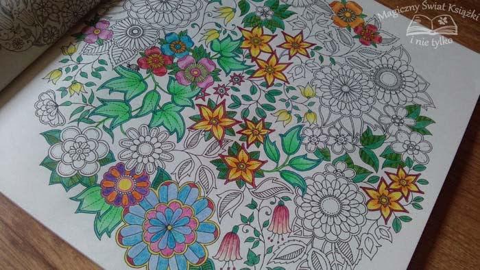 Tajemny Ogród Rysuj Koloruj Przeżywaj Przygody Johanna Basford