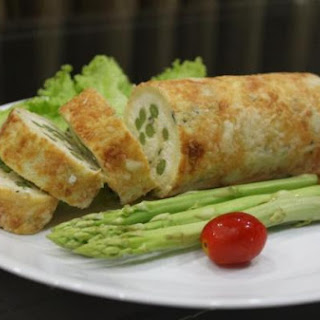Asparagus and Cheese Roulade