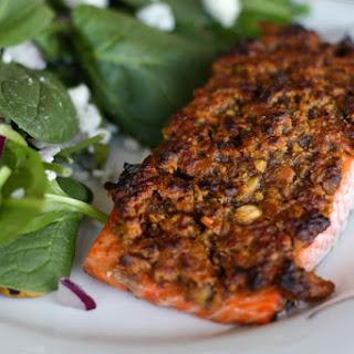 Grapefruit and Pistachio Crusted Salmon