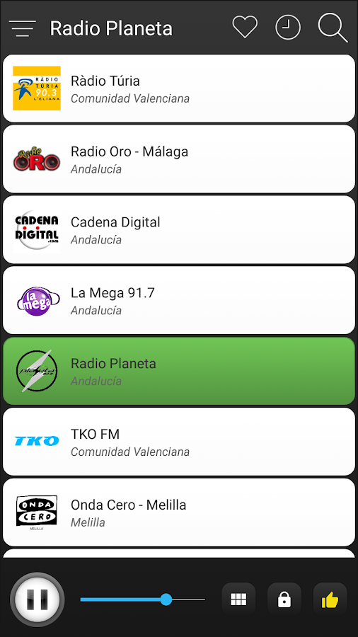 Spain Radio FM Free Online- screenshot