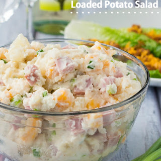 Ham and Cheese Loaded Potato Salad