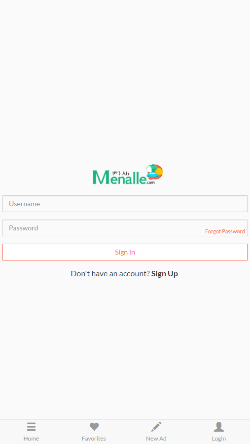 Menalle- screenshot
