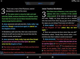Screenshot of NKJV Bible