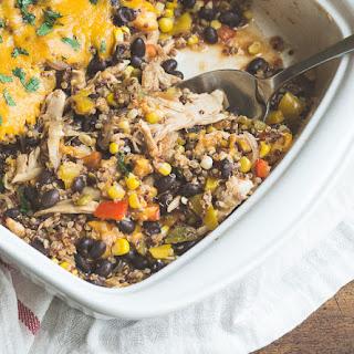 Hatch Chile Southwestern Quinoa Casserole Recipe