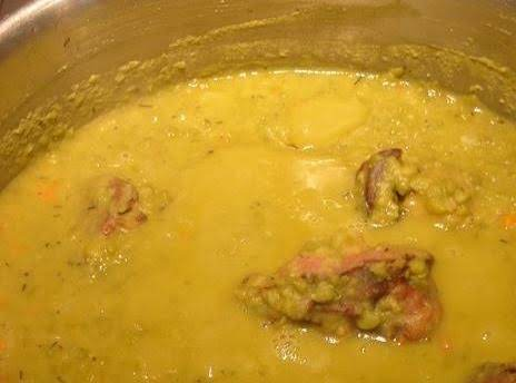 Creole Split Pea Soup Recipe