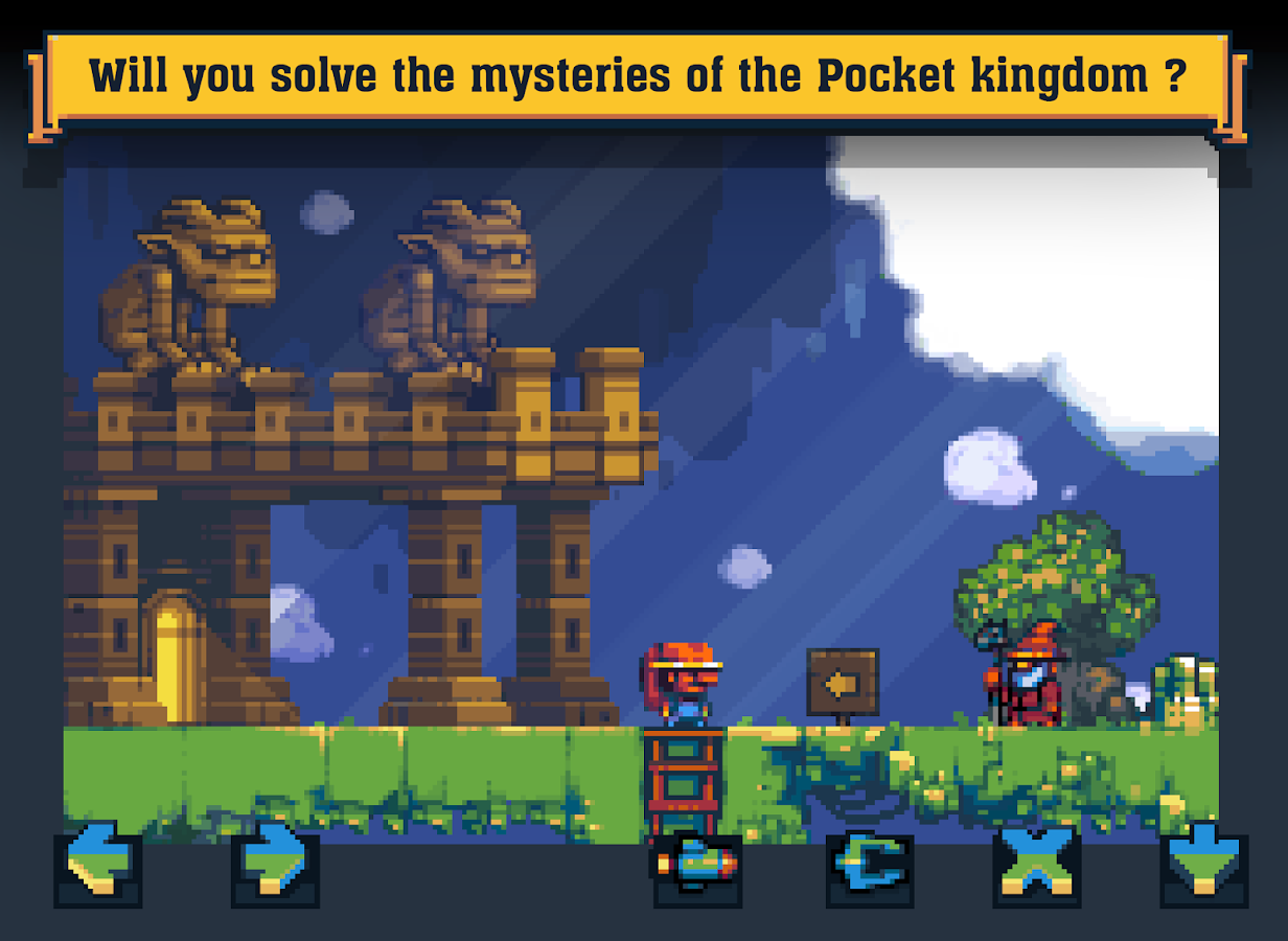 Pocket Kingdom - Tim Tom's Journey- screenshot