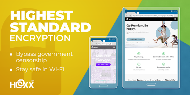Hoxx VPN App Download For Android and iPhone 5