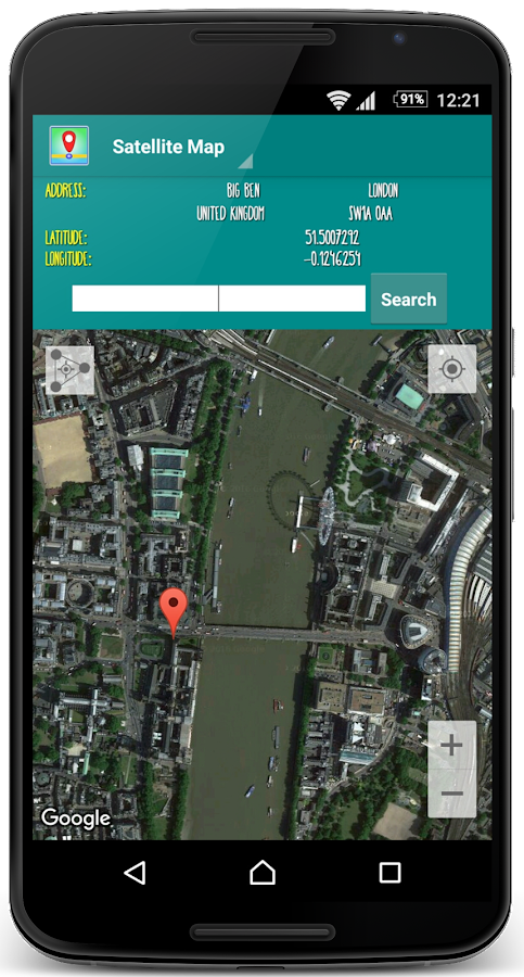 My Location Maps GPS Android Apps On Google Play - Satellite map of my location