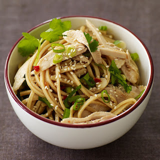 Sesame Noodles with Chicken.