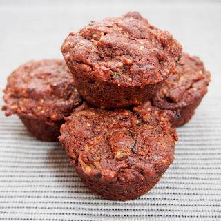 Chocolate Zucchini Muffins (vegan)
