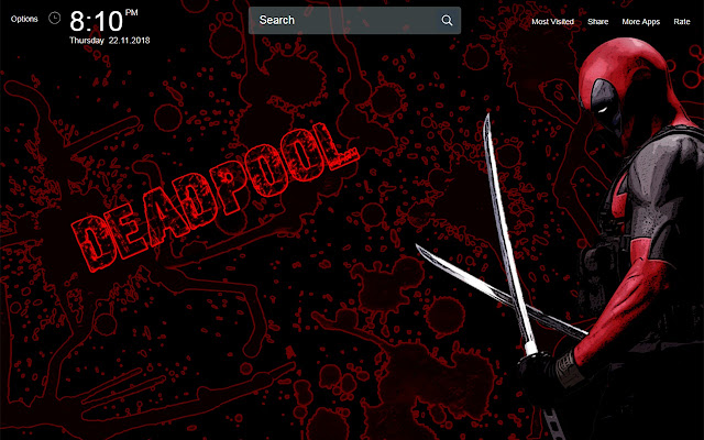 Deadpool Game Wallpapers New Tab Theme