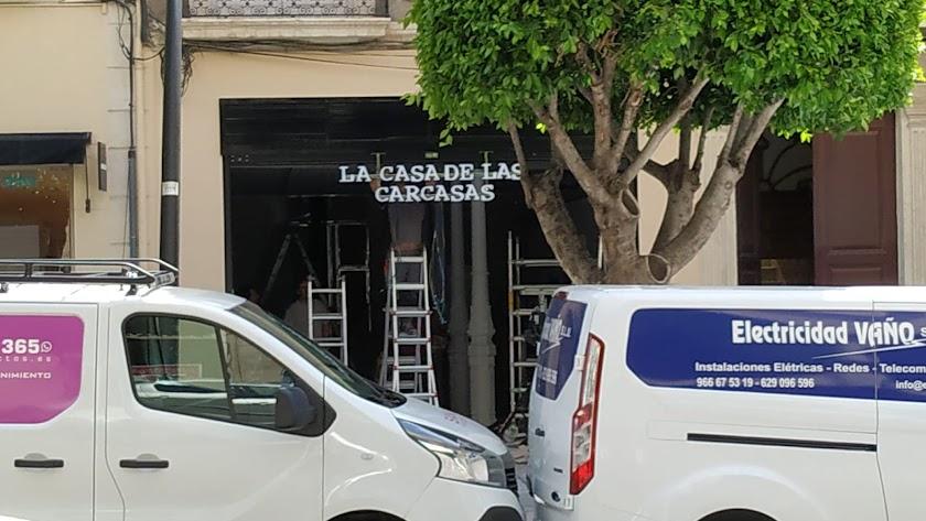 La Casa de las Carcasas se prepara para abrir en el centro de la ciudad.