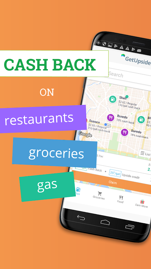 GetUpside: Cheap Gas, Restaurant & Grocery Deals- screenshot