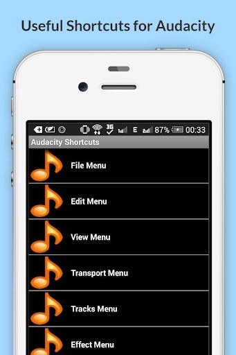 Free Audacity Shortcuts 6.6.6.1 screenshots 2