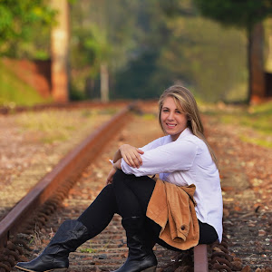 Chilling on the Railway trackoil.jpg