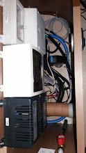 Photo: Ya está el cable puesto y pasado