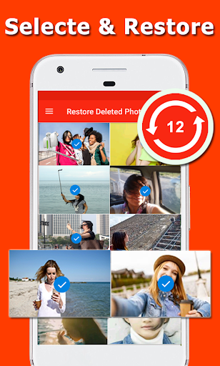 Restore Deleted Photos - Picture Recovery & Backup screenshots 2