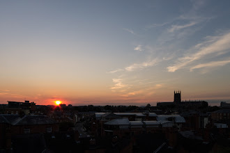 Photo: August 10th (sunset) Clive Haynes