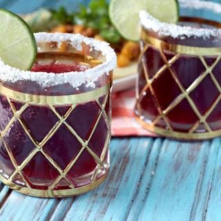 Hibiscus Coconut Margarita