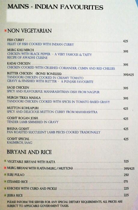 L Cafe menu 10
