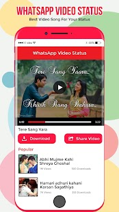 Video Status for Whatsapp & FB - náhled
