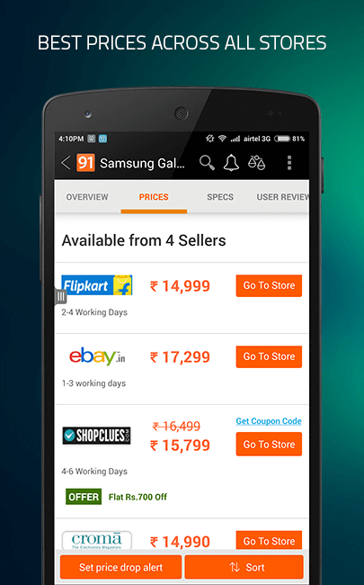 Best mobile price online shopping