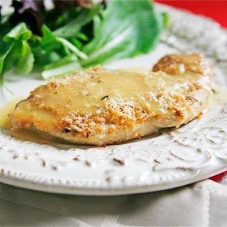 Easy, Juicy Rosemary Romano Roasted Turkey Cutlets.