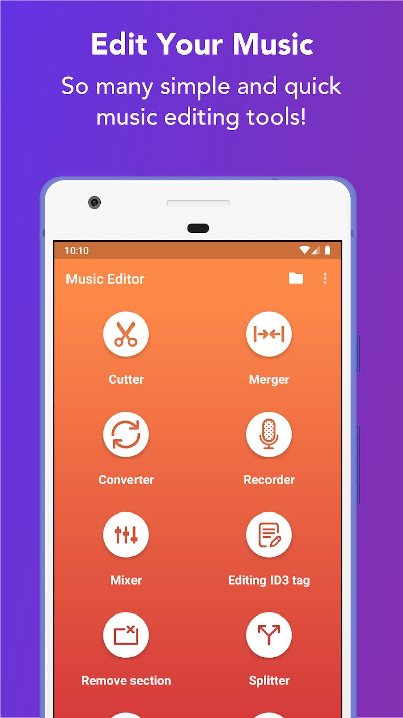 Music Editor – MP3 Cutter and Ringtone Maker v5.3.0 [Pro] APK [Latest]