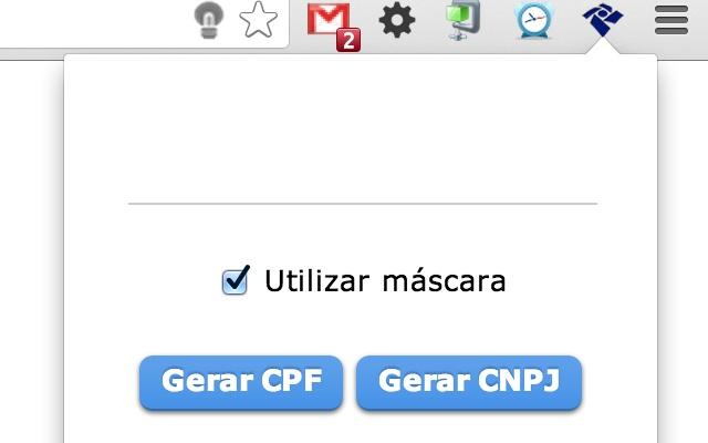 Gerador de CPF e CNPJ