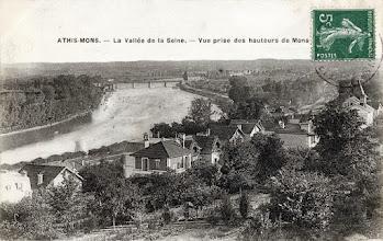 Photo: ATHIS-MONS. - La Vallée de la Seine. - Vue prise des hauteurs de Mons
