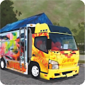 livery bus canter APK