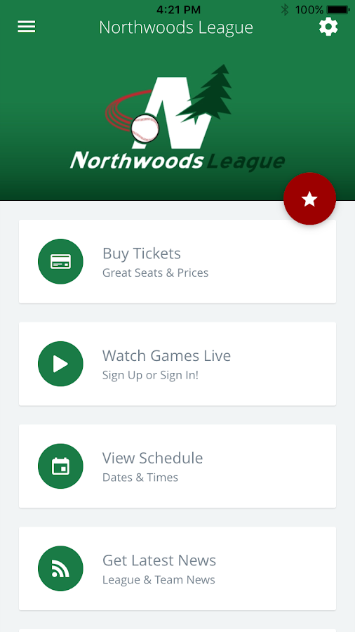 Northwoods League- screenshot